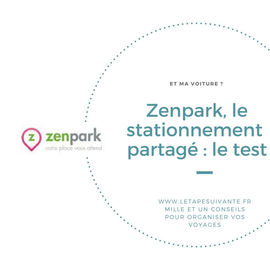 Zenpark, le stationnement partagé