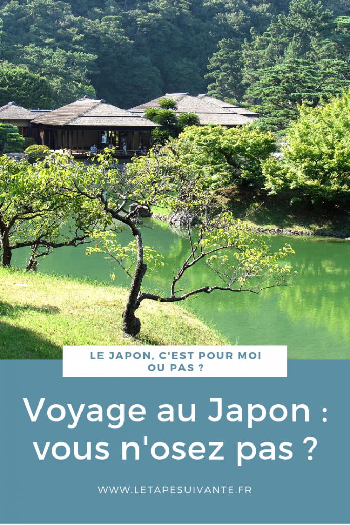 Le Japon, vous n'osez pas ? Image à épingler sur Pinterest.