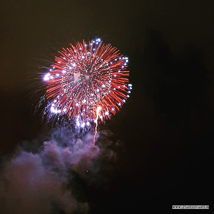 Le japon en août, profitez des feux d'artifice !