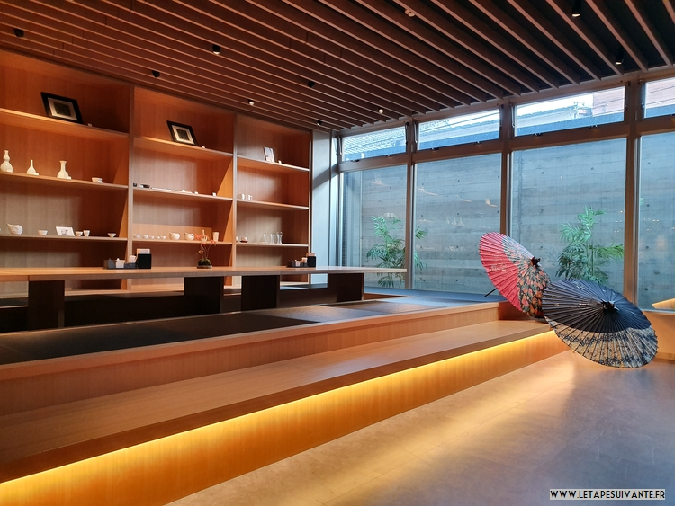 Mon avis sur l'hôtel UAN kanazawa : la salle de petit déjeuner