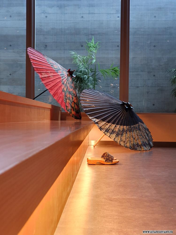 L'hôtel UAN à Kanazawa, son style traditionnel, moderne et épuré.