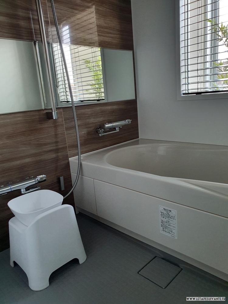 Mon avis sur l'hôtel UAN à Kanazawa, la salle de bain