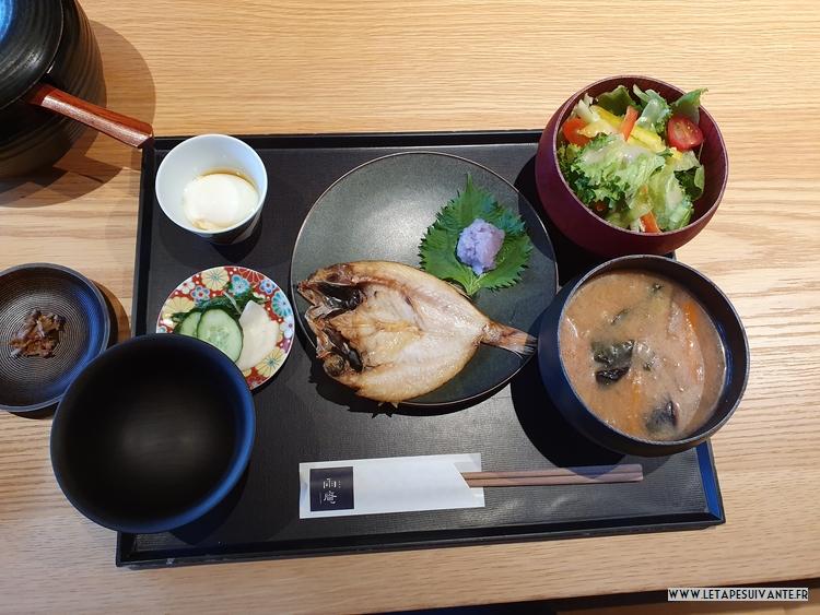 Mon avis sur l'hôtel UAN à Kanazawa, le petit déjeuner japonais