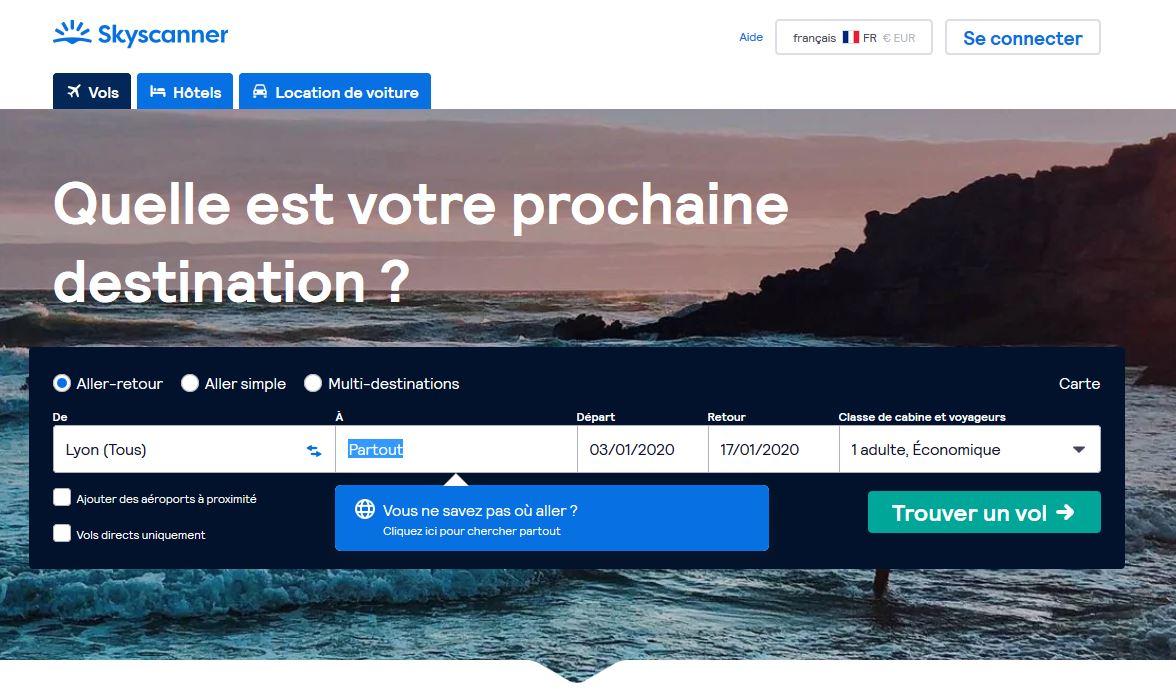 Choisir une destination à la dernière minute, Letapesuivante.fr