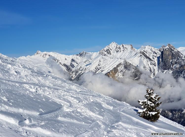 Les Karellis, ma station de ski secrète en Savoie, panorama