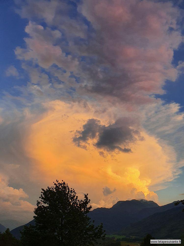Un été dans les Alpes en photos, ciel d'orage