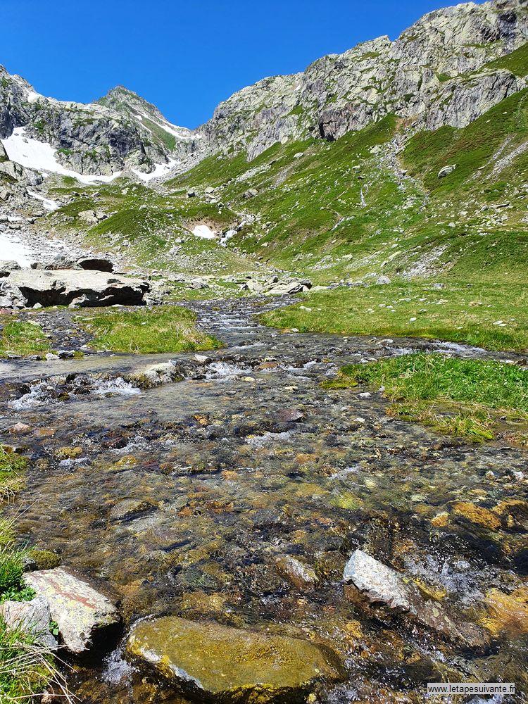 Un été dans les Alpes en photo, randonnée du lac de la Croix