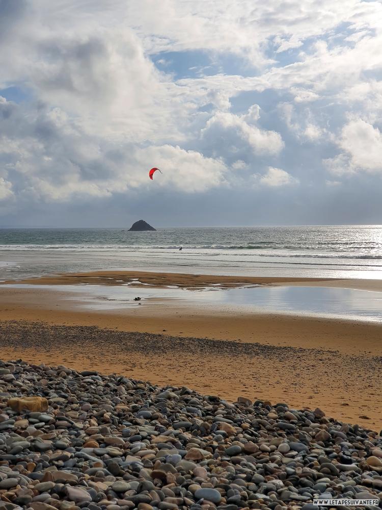 Sites de surf dans le Finistère