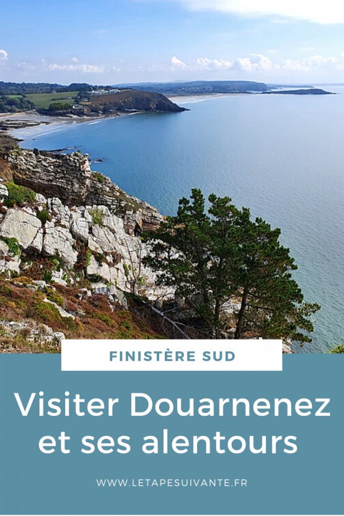 Visiter Douarnenez et ses alentours. Paysage de la presqu'île de Crozon.